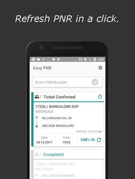 Easy PNR apk screenshot