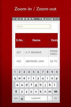 MPPGCL Directory apk screenshot