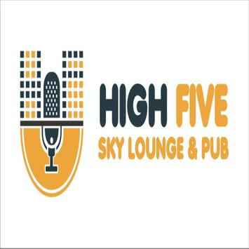 HIGH FIVE PUB poster