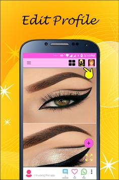 Eye Makeup 2018 latest apk screenshot
