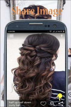 Hairstyle 2018 step by step apk screenshot