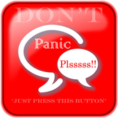 Panic Button. Blood Donor App icon