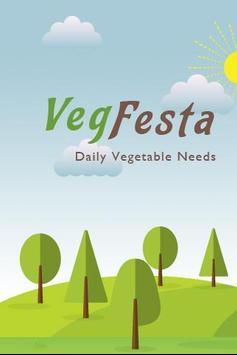 Veg Festa poster