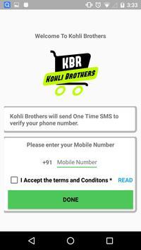 Kohli Mobile screenshot 1