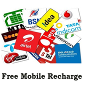 Free Mobile Recharges icon