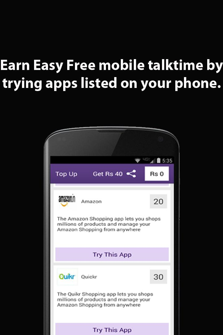 Free Mobile Talktime For Android Apk Download