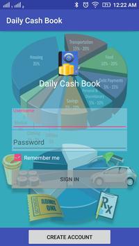 Daily Cashbook screenshot 1