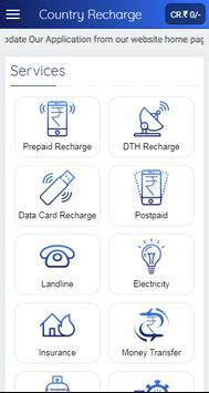 Country Recharge - B2B App for Recharge & Bill Pay screenshot 3