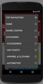Coupons Factory apk screenshot