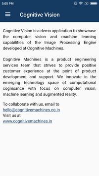 CognitiveVision screenshot 1