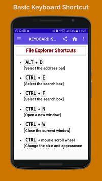 BASIC COMPUTER KEBOARD SHORTCUT screenshot 3