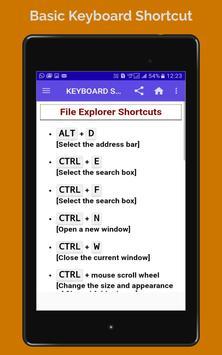 BASIC COMPUTER KEBOARD SHORTCUT screenshot 10