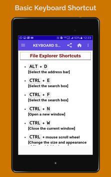 BASIC COMPUTER KEBOARD SHORTCUT screenshot 11