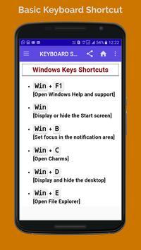 BASIC COMPUTER KEBOARD SHORTCUT screenshot 1