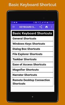 BASIC COMPUTER KEBOARD SHORTCUT screenshot 8