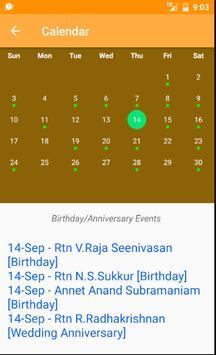 Rotary club of Madras West screenshot 3