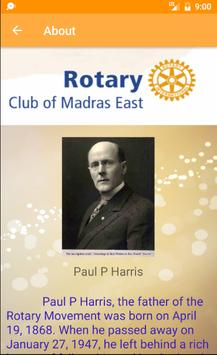 Rotary club of Madras West screenshot 1