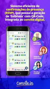 convite.in - Convite Digital Online RSVP poster