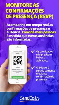convite.in - Convite Digital Online RSVP apk screenshot