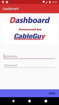 Cableguy - Dashboard poster
