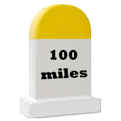 100 Miles Hump Notification icon