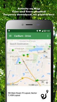 CarBurn - CarPool RideShare apk screenshot