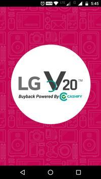 LG V20 Exchange Program poster