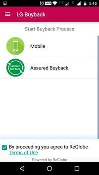 LG V20 Exchange Program apk screenshot