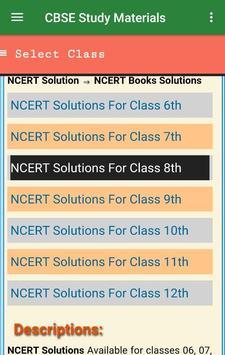 CBSE Study Materials screenshot 1