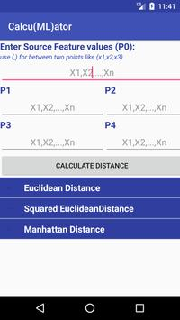 Calculator for ML poster