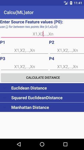 Euclidean Distance Calculator