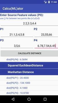 Calculator for ML screenshot 3
