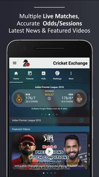 Cricket Exchange (Live Line) poster