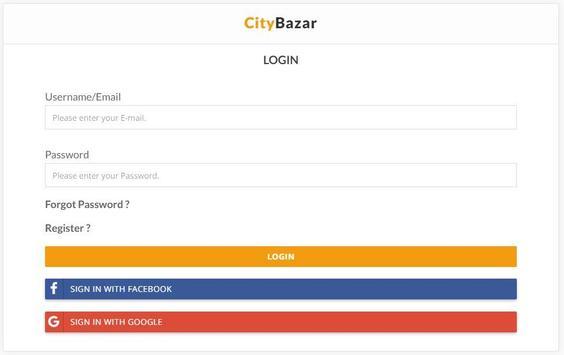 City Bazar apk screenshot