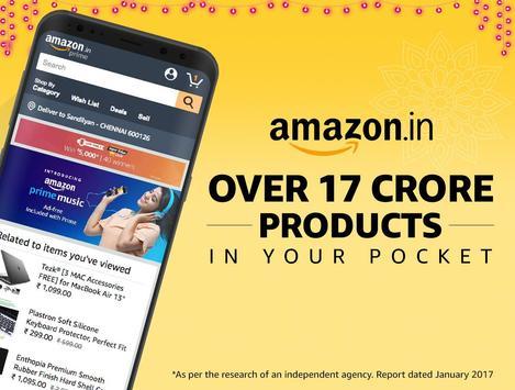 Poster Amazon India Online Shopping