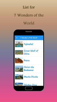 7 Wonders+ apk screenshot