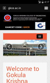 GKCE Android Application apk screenshot