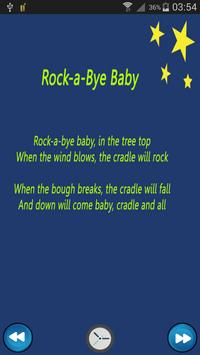 Lullaby for babies screenshot 2