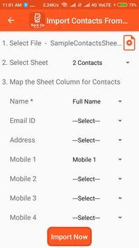 Backup Phone To XLSX PDF and CSV screenshot 6