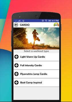 Workout 101 apk screenshot