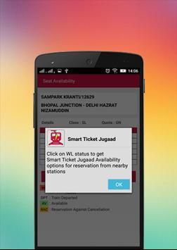 Smart Ticket Jugaad screenshot 4