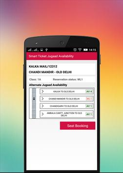 Smart Ticket Jugaad screenshot 6