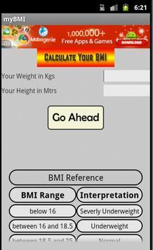 BMI Calculator poster