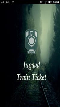 Jugaad Train Ticket IndianRail poster