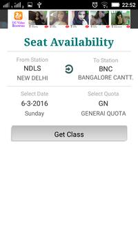 Jugaad Train Ticket IndianRail apk screenshot