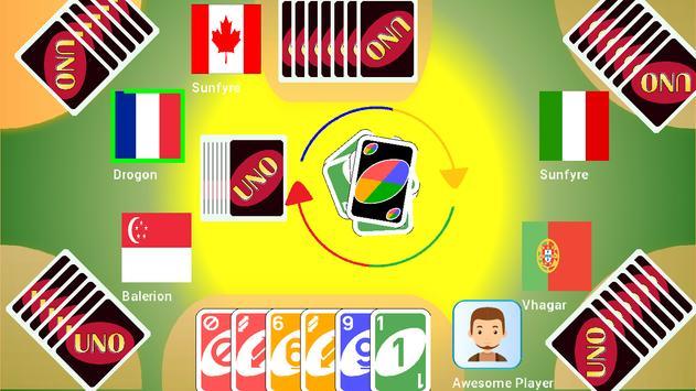 Uno With Friend Everywhere screenshot 2