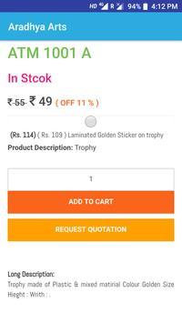 Aradhya Arts - Shop Trophy Online screenshot 1