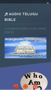 Audio Bible poster
