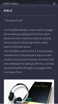 Audio Bible screenshot 2