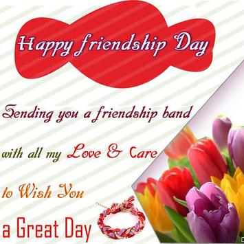 friendship day poster